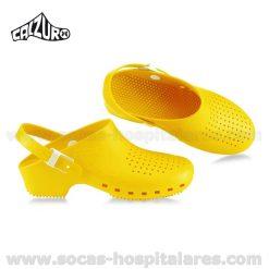 Socas Calzuro Amarelas com Tira