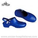 Socas Calzuro Azul Metalizado com Tira