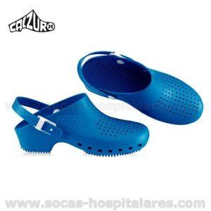 Socas Calzuro Azul com Tira