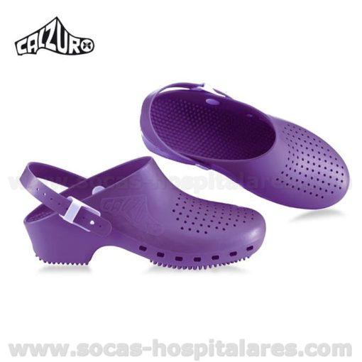Socas Calzuro Purpura com Tira