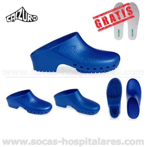 Socas Azul Metalico