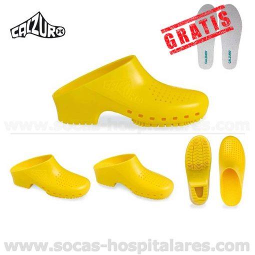 Socas Calzuro Amarelas