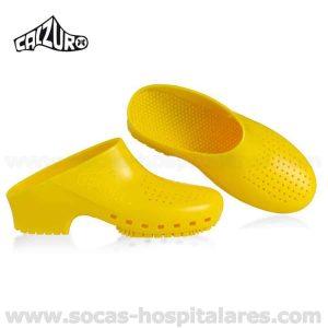 Socas Hospitalares Calzuro Amarelas