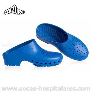 Socas Hospitalares Calzuro Azul