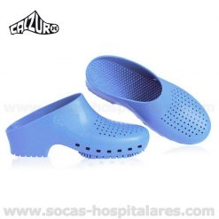 Socas Hospitalares Calzuro Azul Celeste